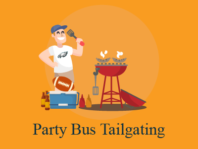 Party Bus Tailgating with KSTG