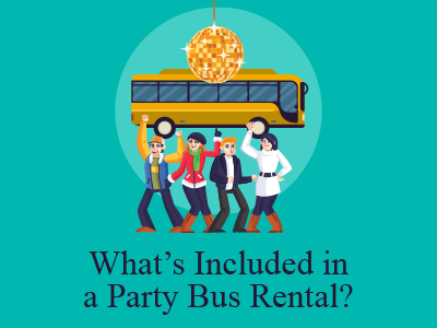 What's Included in a Party Bus Rental?