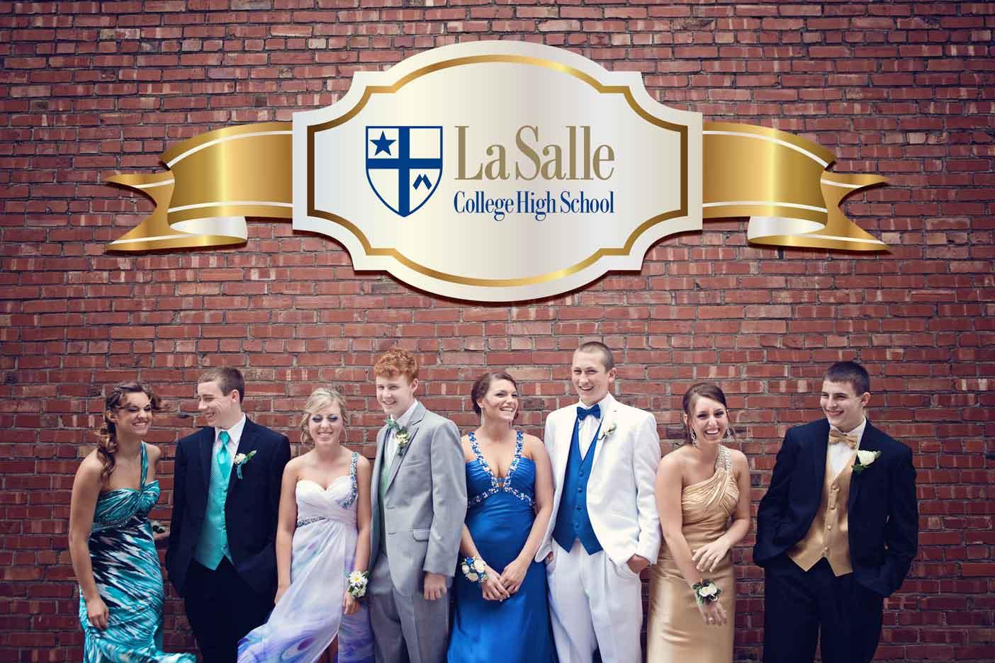 lasalle college high school prom