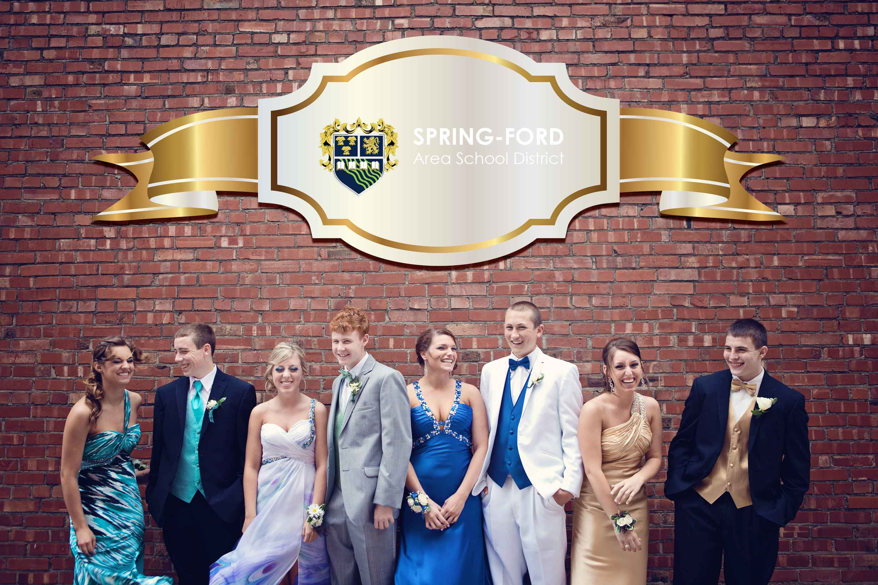 Spring Ford High School Prom Official Limo Party Bus
