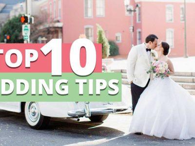 top 10 wedding transportation tips