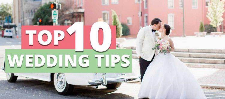 top 10 wedding transportation tips