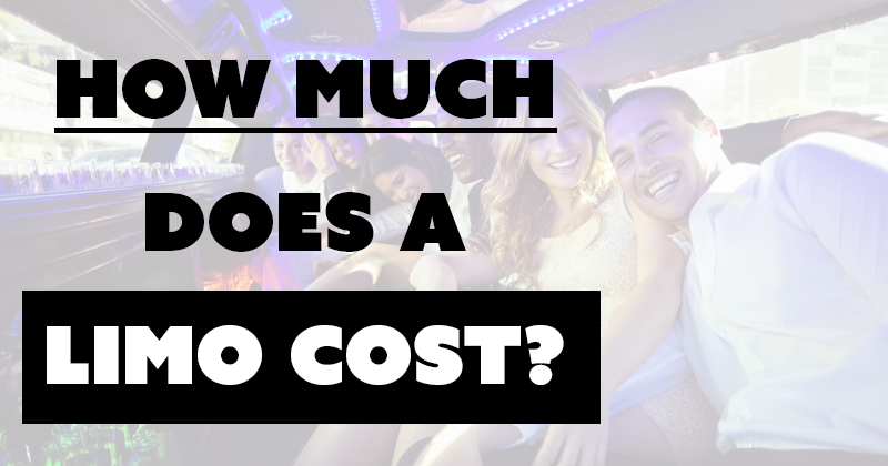 How Much Does a Limo Cost?