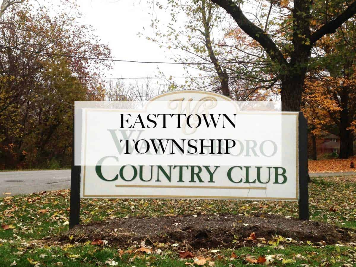 limo service in Easttown township, pa