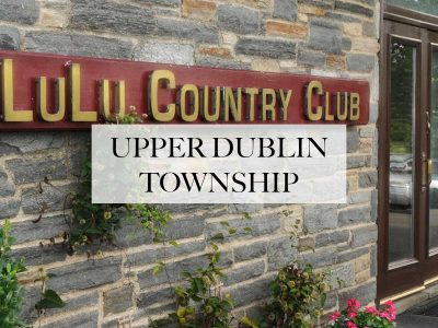 Limo Service in Upper Dublin Township, Pa