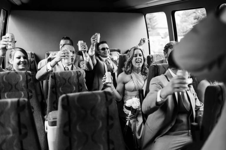 wedding shuttle serivce