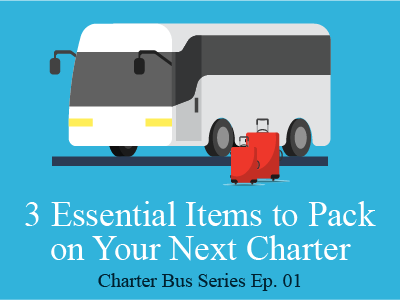 3 Essential Items to Pack on Your Next Charter