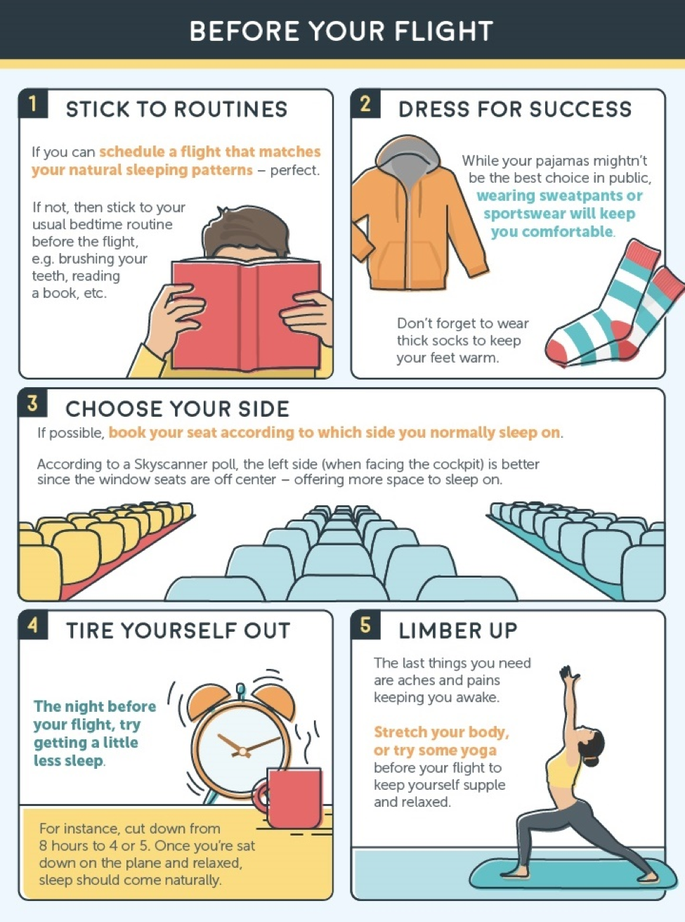 how to sleep on an airplane