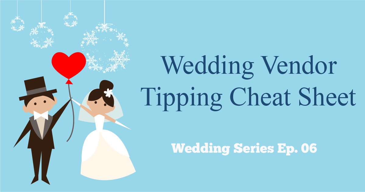 wedding vendor tipping