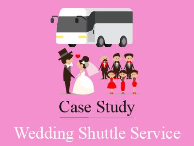 Wedding Shuttle Services – A Case Study