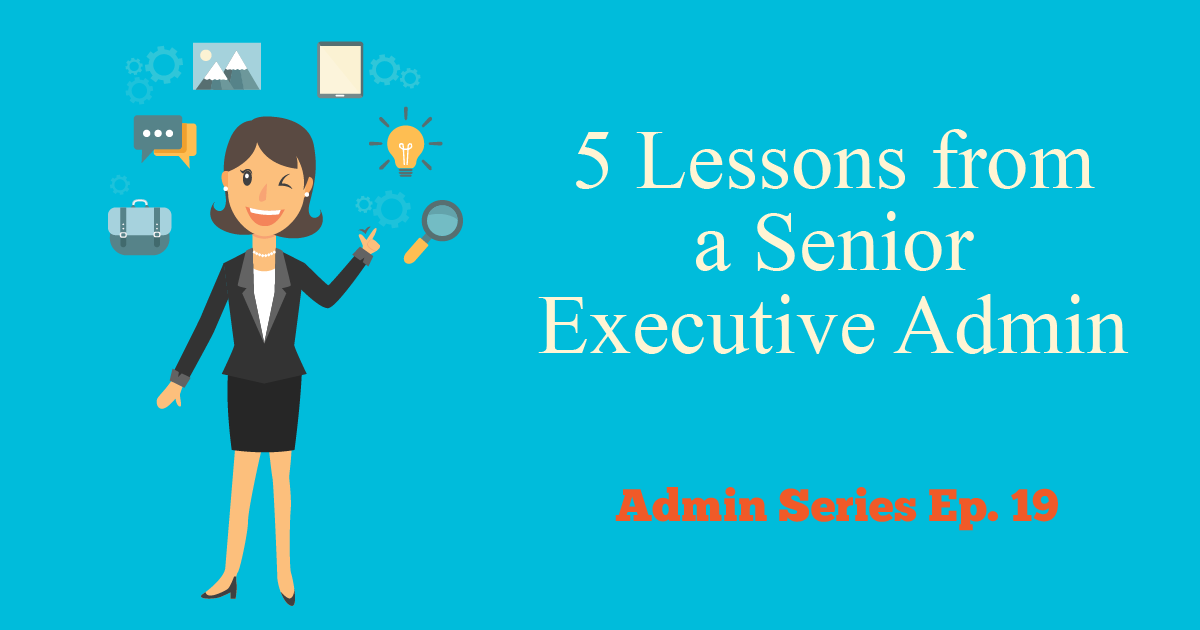 senior executive admin