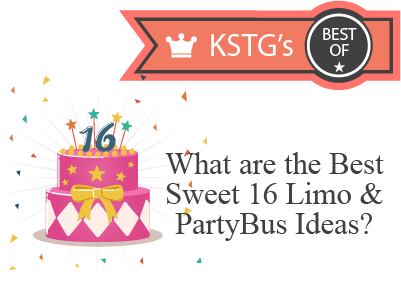 What are the Best Sweet 16 Limo and Party Bus Ideas?