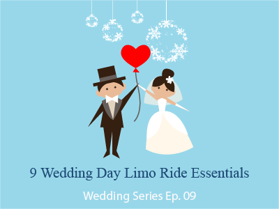 9 Wedding Day Limo Ride Essentials