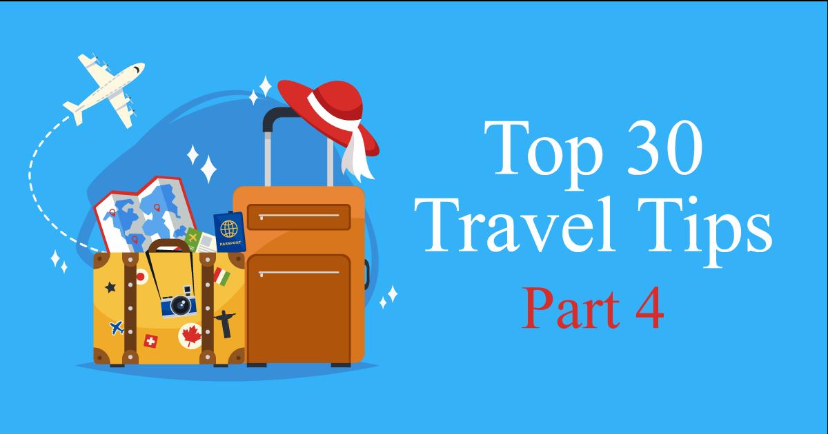 travel tips 4