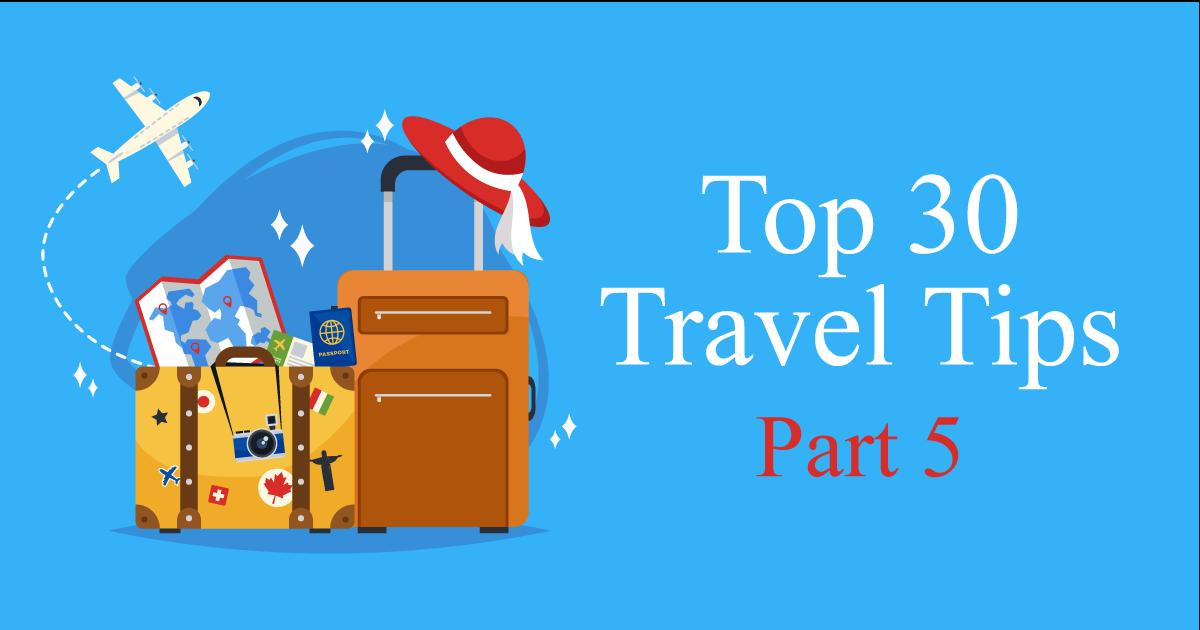 travel tips 5