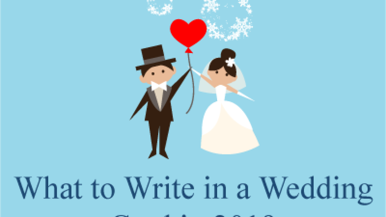 What To Write On Wedding Card.What To Write In A Wedding Card In 2019