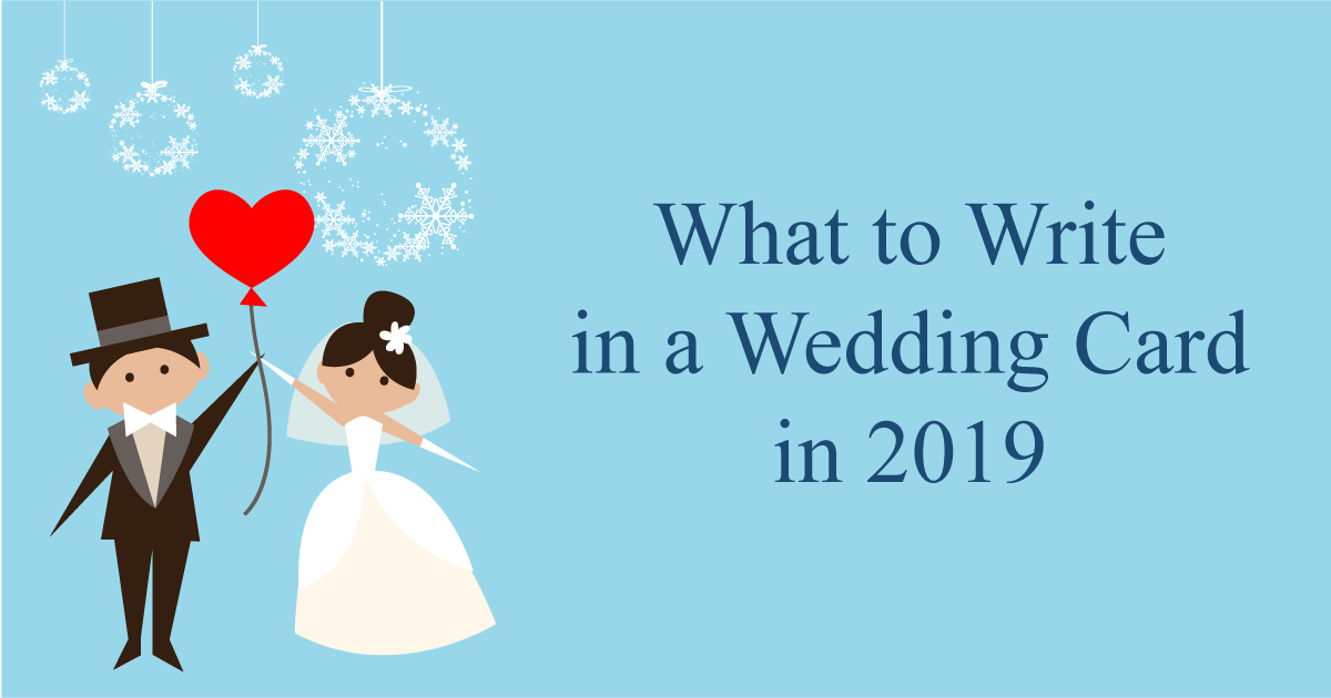 What to Write in a Wedding Card in 10