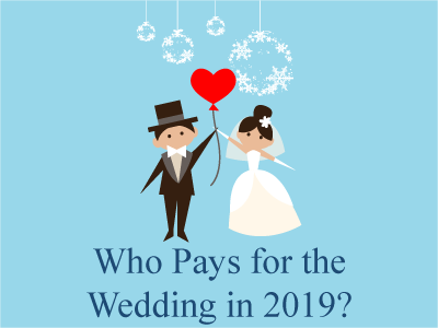 Who Pays for the Wedding in 2019?