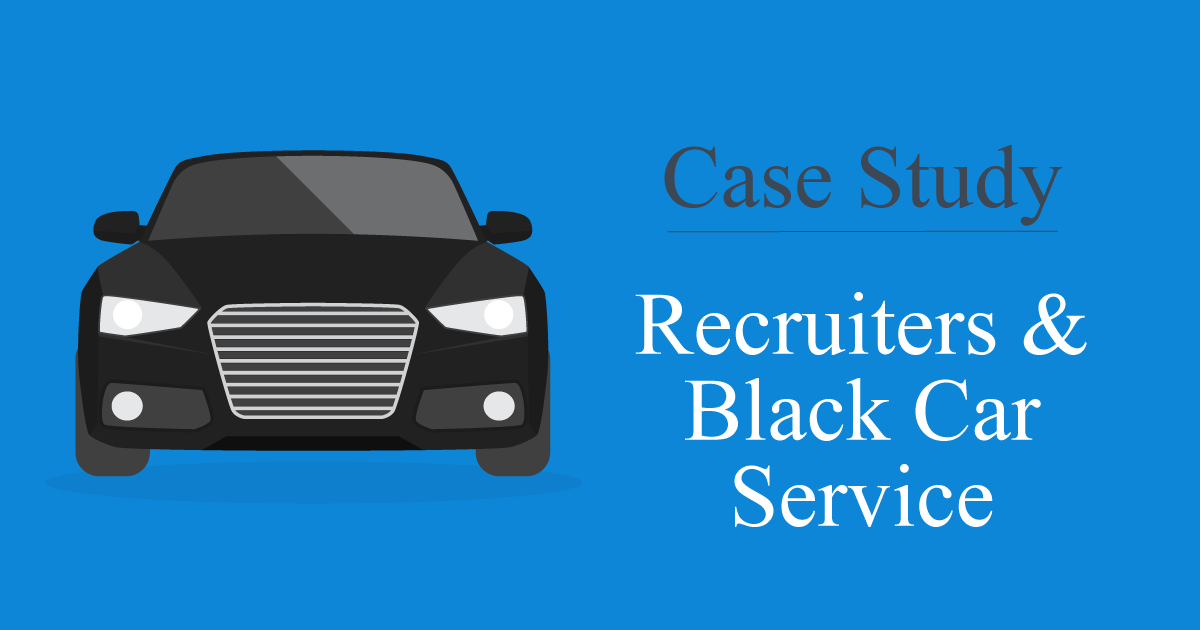 recruiters black car service