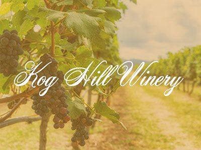 Kog Hill Winery – My Amazing Wine Tour