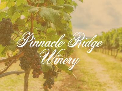 Pinnacle Ridge Winery – My Amazing Wine Tour