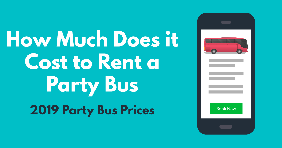 how much does it cost to rent a party bus