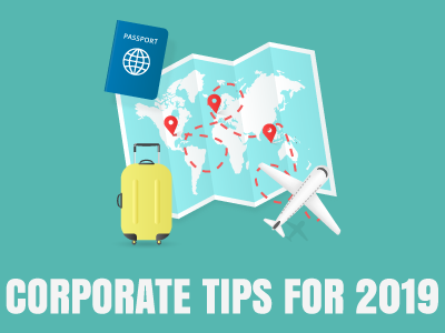 Corporate Travel Tips for 2019