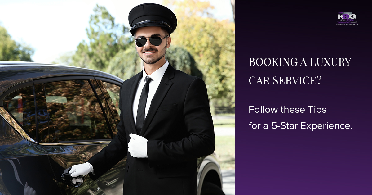 Booking a Luxury Car Service?