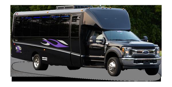 28 passenger mini bus