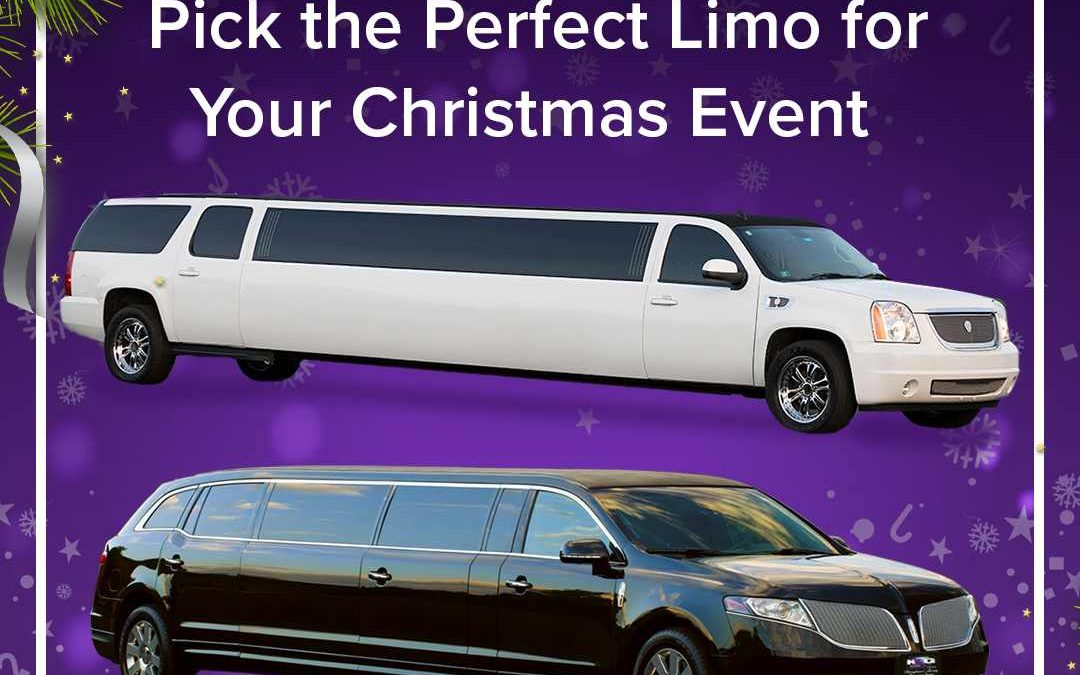 Pick the Perfect Limo for Your Christmas Event
